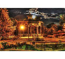 Fenton Gazabo under the Harvest Moon Photographic Print