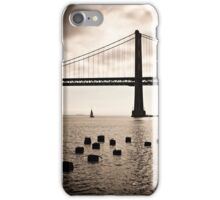 San Francisco, Bay Bridge iPhone Case/Skin