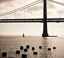 San Francisco, Bay Bridge by giof