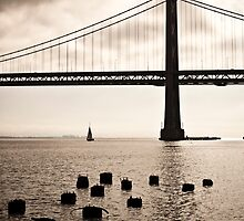 San Francisco, Bay Bridge by Giorgio Fochesato