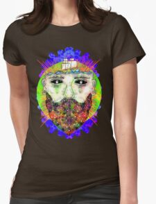 Spacesailor Womens Fitted T-Shirt