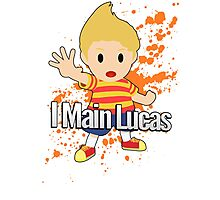 I Main Lucas - Super Smash Bros. Photographic Print