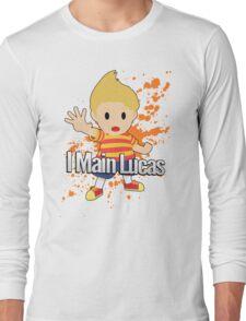 I Main Lucas - Super Smash Bros. Long Sleeve T-Shirt