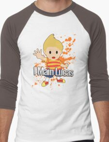 I Main Lucas - Super Smash Bros. Men's Baseball ¾ T-Shirt