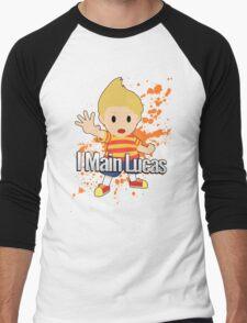 I Main Lucas - Super Smash Bros. Men's Baseball ¾ T-Shirt