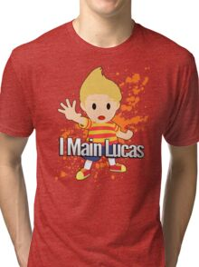 I Main Lucas - Super Smash Bros. Tri-blend T-Shirt