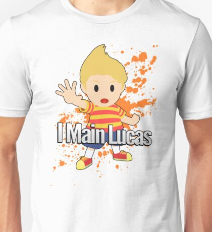 I Main Lucas - Super Smash Bros. Unisex T-Shirt