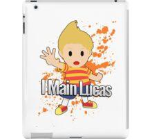 I Main Lucas - Super Smash Bros. iPad Case/Skin