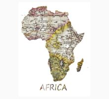 Africa map 2 Kids Clothes
