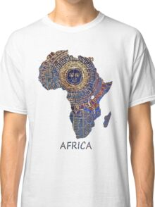Africa map ancient Classic T-Shirt