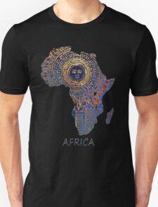 Africa map ancient Unisex T-Shirt