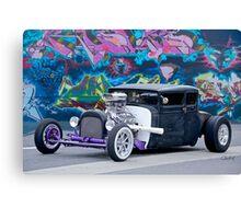 1928 Dodge 'Graffiti' Coupe Canvas Print