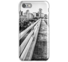 Road to Nashville in Black and White iPhone Case/Skin