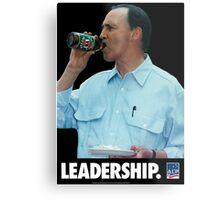 Paul Keating - Leadership Metal Print