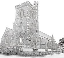 St Georges Church by Colin Bentham