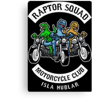 Jurassic Raptor Squad World Canvas Print