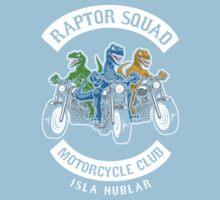 Jurassic Raptor Squad World Kids Tee