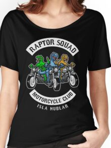 Jurassic Raptor Squad World Women's Relaxed Fit T-Shirt