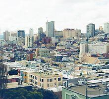 City of San Francisco by giof