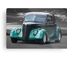 1936 Ford 'Five Window' Coupe Metal Print