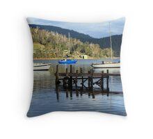 Port Cygnet Evening Throw Pillow
