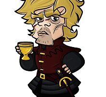 Tyrion Lannister Cartoon by zittano