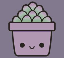 Succulent in cute pot Kids Clothes