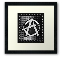 A for anarchy Framed Print
