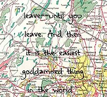 Leaving-- Paper Towns by brokennightmare