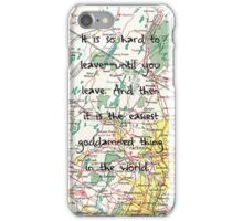 Leaving-- Paper Towns iPhone Case/Skin