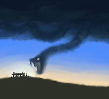 Sky Snake by lokiimotion