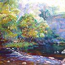 Tunnel Bend - Howqua River by Lynda Robinson