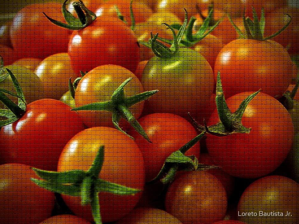 tomatoes by Loreto Bautista Jr.