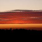 Rippled sunset by Carole Stevens