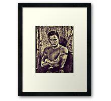 Mr Mumbles Framed Print