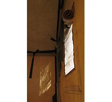 Unrolling the unseen inscriptions Photographic Print