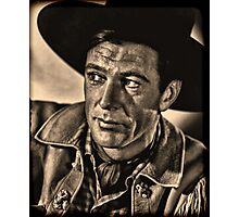 """""""In Westerns you were permitted to kiss your horse but never your girl."""" Photographic Print"""