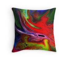 Enchanted storm Throw Pillow