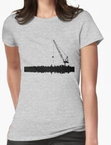OVER CRANED Womens Fitted T-Shirt