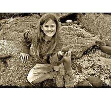 Treasure seeker Photographic Print