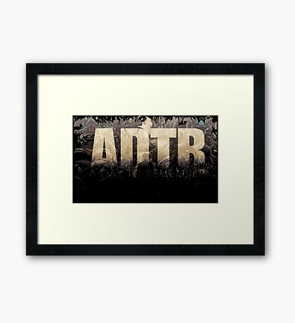 A Day To Remember Framed Print
