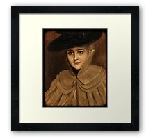 I'll be seeing you... Framed Print