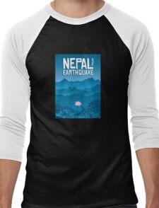 Nepal Earthquake appeal - T Shirt Men's Baseball ¾ T-Shirt