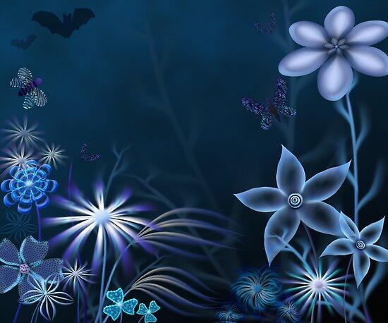 Blue Night by Cornelia Mladenova