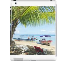 Panamanian Beach Scene iPad Case/Skin