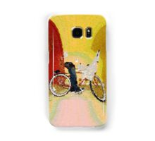 Invisible Beach Cruiser Samsung Galaxy Case/Skin