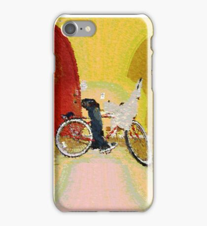 Invisible Beach Cruiser iPhone Case/Skin