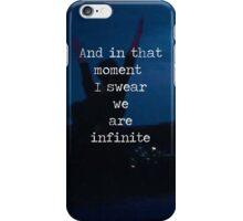 We Are Infinite--The Perks of Being a Wallflower iPhone Case/Skin