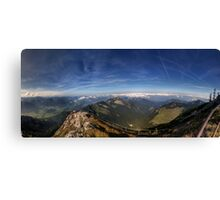 ...what they call a mountain Canvas Print