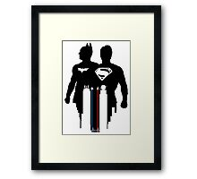 Dawn of Justice (White) Framed Print